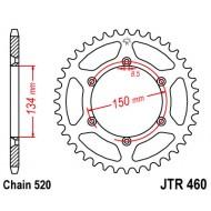 Tagahammasratas KX 125/250/450/500