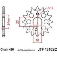 Esihammasratas CRF150R (420ketile)